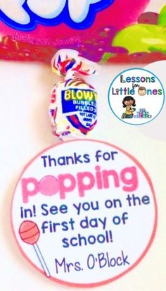 Back to School, Open House, Meet the Teacher Student Gift Ideas & Gift Tags - Lessons for Little Ones by Tina O'Block - - I am posting some of my favorite back to school student gifts. I have found over the years that havingContinue reading. Back To School Night, Back To School Teacher, Meet The Teacher, 1st Day Of School, Beginning Of The School Year, Middle School, High School, School Stuff, Starting School