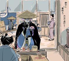 【刀剣乱舞】江戸遠征で買い物をする歌仙さん(薬研)【とある審神者】 : とうらぶ速報~刀剣乱舞まとめブログ~