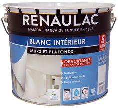 Chantier N°3   Je Rénove Mes Murs // Peinture Acrylique Murs Et Plafonds