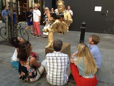Picture with a statue: gather round children, today's lesson will be on that classic fable – sales and marketing alignment