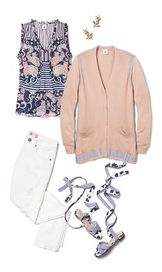Check out five unique ways to mix and match the Peplum Blouse with other cabi items!