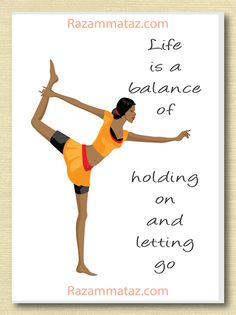 African American Yoga Card C