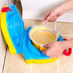 Travel Training Potty Toilet Seat - Potties - Little TroubleMakers - TroubleMakers - TroubleMaker - Kids - Kid - toddler -…