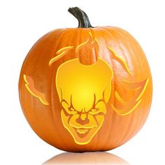 Image result for pennywise pumpkin