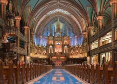 Notre Dame Catholic Cathedral, Montreal, Canada