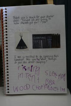 Camp Kurtz: Summer Journals