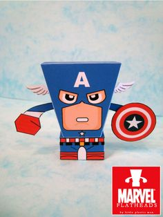 Blog_Paper_Toy_papertoys_FlatHeads_Captain_America_pic1