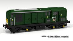 British Rail Class 15 Diesel Locomotive #flickr #LEGO #train
