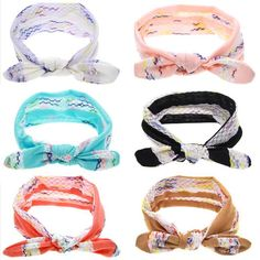 """Our knotted headbands are finally here! Super trendy, comfy and excellent quality! 1.5"""" Knotted headband, fits app. newborn up to adult!"""