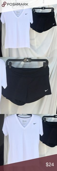 BOTH INCLUDED!! BOTH FLAWLESS! BOTH SIZE MEDIUM!! No stains!! Perfect! Nike Tops Tees - Short Sleeve