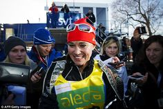 March 4, 2012 - The royal-in-law came in 412th at the Vasaloppet 2012 cross-country ski race in Sweden.