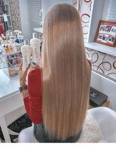 Wonderful long straight hair and beautiful color   Inspiring Ladies #longstraighthair