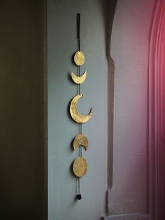 Free People Gold Moon Chime at Free People Clothing Boutique
