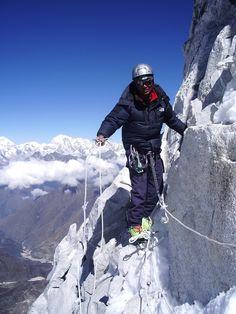 Exposure on Annapurna