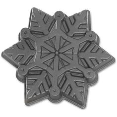 Shop online for Nordic Ware Snowflake Cake Pan at Golda's Kitchen; the leading Canadian on-line shopping site for quality bakeware, cookware, and cake decorating supplies. Snowflake Cake, Frozen Snowflake, Snowflakes, Baking Utensils, Baking Pans, Cake Shapes, Snowflake Designs, Baking Supplies, Baking Tools