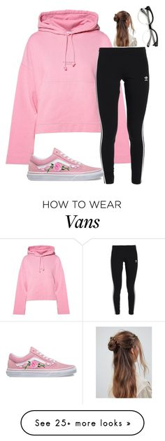 """Untitled #3752"" by mfr-mtz on Polyvore featuring Acne Studios, adidas Originals, Vans and ASOS"