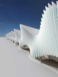 Reggio Emilia Station | Santiago Calatrava, click for more images. Home of Italy's bullet train. amazing inside.
