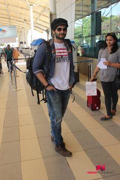 Ali Fazal Snapped At Domestic Airport