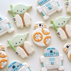 Star Wars Cookies by The Cookie Gallery
