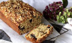 Blueberry muesli loaf