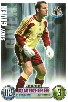 2007-08 Topps Premier League Match Attax #209 Shay Given Front
