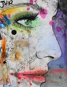 """Saatchi Online Artist: Loui Jover; Paper, 2013, Mixed Media """"bling"""" Love everything this guy posted online"""
