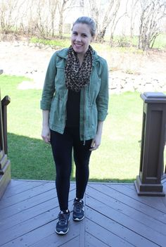 Mom Style, Vol 12: Leggings + Cargo Jacket - The Style Files