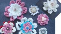 How to Crochet a Beginner Flower., via YouTube.