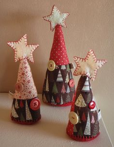 fabric trees courtesy of Amy Adams on Flickr