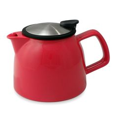 Bell Teapot with Basket Infuser - 26 oz: