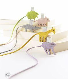 Sweet Animal Motif Bookmarks by Mai ONO