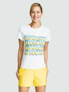 Could it get any better? (Answer: We don't think so, y'all.) Summer calls for great tees, and this lovely lemon-printed one is just about as cute as they come. Pair it with jeans and cowboy boots for just the right amount of sweet southern polish.
