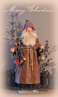 Original German style Santa created by Scott Smith of Rucus Studio © 2015