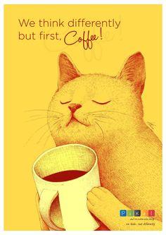 #realisticthought #quoteoftheday #awesomedesign #awesomecoffee #coolcats #coolattitude #coffeetime #attitude #pixel