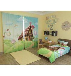 Хотите шторы приобрести  в детскую? У нас есть яркие шторы «Волшебный домик» по…