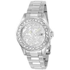 Product Image: Invicta Women's 22869 Disney Quartz 3 Hand Silver Dial Watch