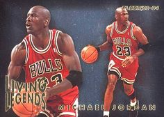 93-94 Michael Jordan Living Legends