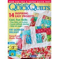 McCall's Quick Quilts August/September 2012