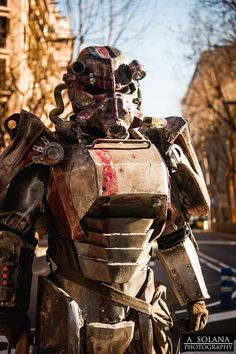 Fallout Cosplay Brotherhood of Steel ESL First Place!