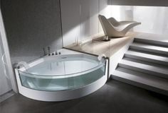 Glass Whirlpool Bathtubs