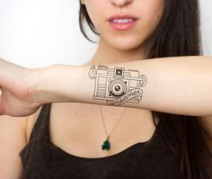 Looking Glass - temporary tattoo $5 | #tattoo #tattoos #temporarytattoo #tattify
