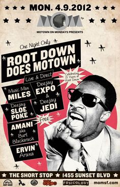 motown posters - Cerca amb Google