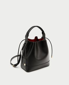 28091f5acb MEDIUM - SIZED BUCKET BAG WITH GATHERING-BAGS-SALE-WOMAN
