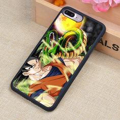 DRAGON BALL Z ANIME GOKU Printed Phone Case Shell For iPhone 6 6S Plus 7 7 Plus 5 5S 5C SE 4 4S Rubber Soft Cell Housing Cover