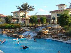 Orange Lake Resort & Country Club ~ Kissimmee, Florida  Our family's favorite Florida spot!  We LOVE the lazy river!