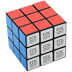 Customize this fun Rubik's cube faster than you can solve it – Promo Gifts, Promotional Giveaways, Client Gifts, Brain Teasers, Customized Gifts, Toys, Rubik's Cube, Larger, Puzzle