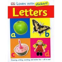 DK Learn With Stickers Letters Book www.mamadoo.com.au $7.90 #mamadoo #kidstoys