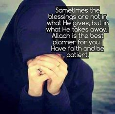 Allah swt is the best of planners