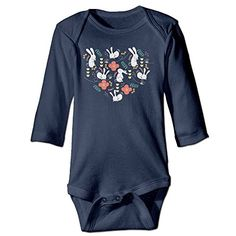 Introducing Funny Vintage Unisex Rabbit Season Onesies Bodysuits Nursling. Great Product and follow us to get more updates!