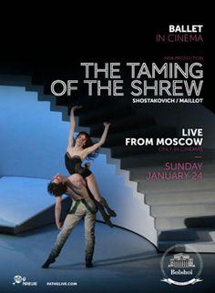 Poskromienie złośnicy / The Taming of the Shrew #Bolshoi Ballet